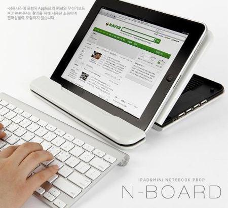 Tabletowo.pl N-Board przekształci tablet w netbooka Akcesoria Nowości