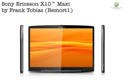 Tabletowo.pl Sony Ericsson X10 Maxi, czyli co by było, gdyby Xperia X10 był tabletem? Ciekawostki Nowości