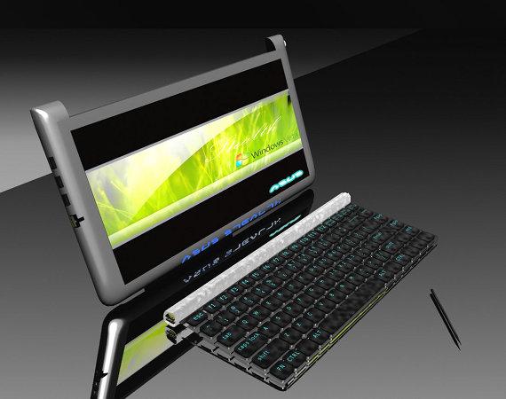 Tabletowo.pl Asus Stealth. Super koncepcyjna hybryda komputera i tabletu Ciekawostki Koncepcje Nowości