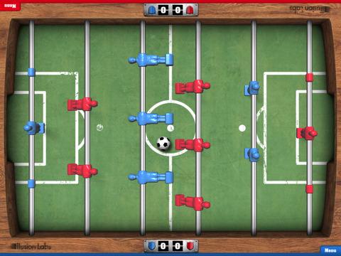 Tabletowo.pl Foosball HD - tabletowe piłkarzyki (wideo) Aplikacje Apple Nowości