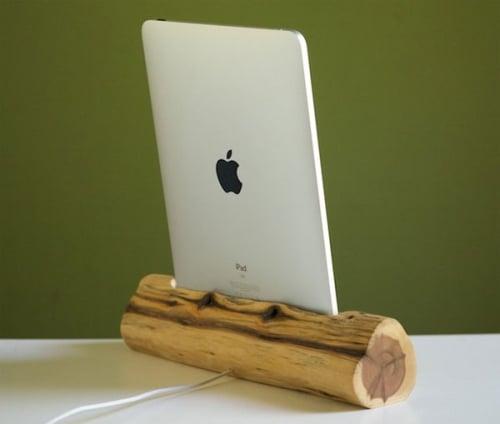 Tabletowo.pl Drewniana stacja dokująca do iPada Akcesoria Apple Nowości
