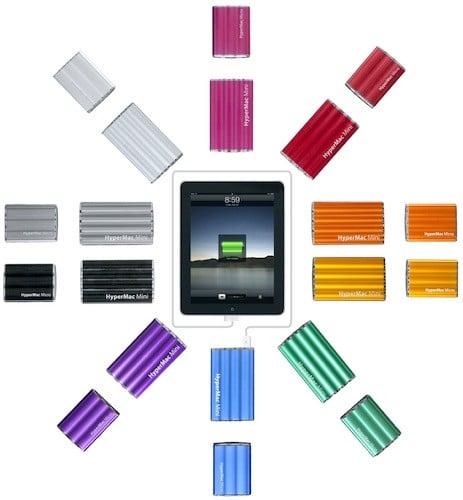 Tabletowo.pl Kolorowe, kieszonkowe baterie do iPada Akcesoria Apple Nowości