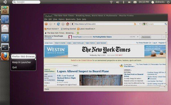 Tabletowo.pl Canonical pracuje nad tabletową wersją Ubuntu Ciekawostki Nowości