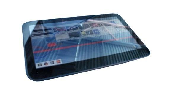 Tabletowo.pl Tajemniczy tablet z MeeGo i WiMAX na wideo Ciekawostki Nowości