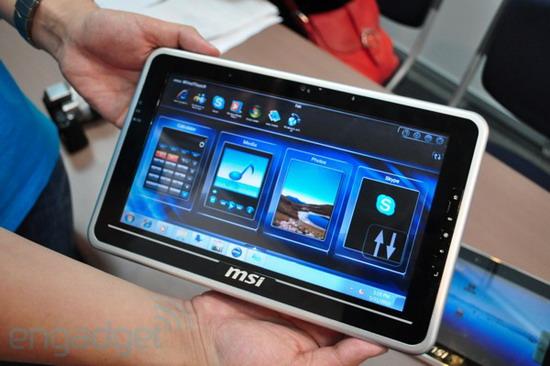 Tabletowo.pl MSI WindPad100 i WindPad110 - nowa konkurencja dla iPada Nowości