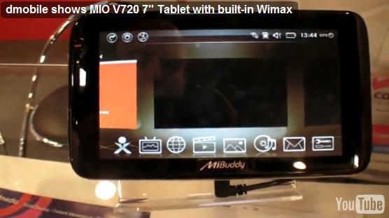 """Tabletowo.pl Prezentacja dmobile MIO V720 7""""? (wideo) Nowości"""