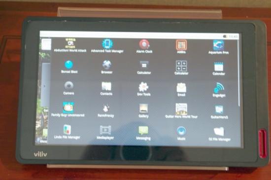 Tabletowo.pl Viliv X10 - tablet zaprezentowany na Computex 2010 Nowości