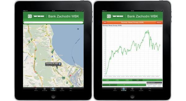 Tabletowo.pl Aplikacja Bank Zachodni WBK Info na iPada Aplikacje Apple Nowości