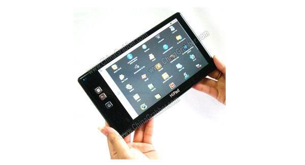 Tabletowo.pl HiPad P168 - 7-calowy tablet z solarnym panelem Chińskie Nowości