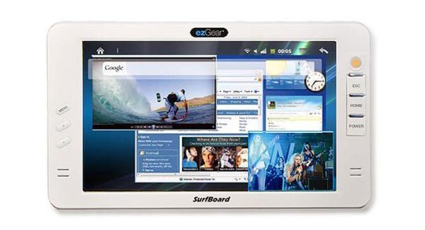 Tabletowo.pl Tablet ezGear Surfboard 700 z Androidem Nowości