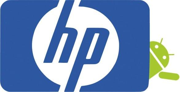 tabletu HP z Androidem