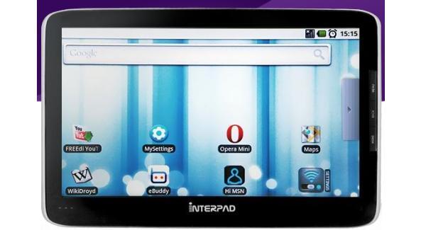 Tabletowo.pl Tablet Interpad: Android, Tegra 2 i bateria 3900 mAh! Nowości