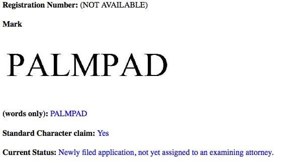 PalmPad