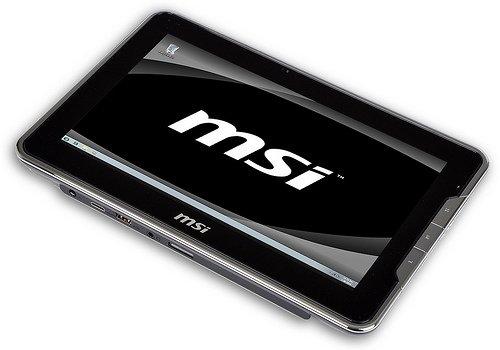 Tabletowo.pl MSI WindPad 100 z Windows 7 na nowych fotkach prasowych (galeria) Nowości