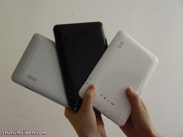Tabletowo.pl Hairuixing - tablet z Androidem 1.6 za 270 złotych Chińskie Nowości
