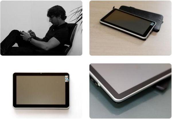 Tabletowo.pl Tablet Dune z Windows 7 na wideo Nowości Plotki / Przecieki