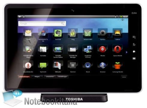 Tabletowo.pl Toshiba Folio 100 - znamy specyfikację! Nowości Plotki / Przecieki Toshiba