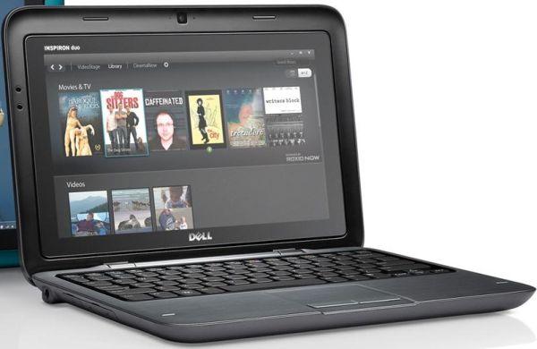 Tabletowo.pl Dell Inspiron Duo. świetna hybryda tabletu i netbooka! (wideo) Hybrydy Nowości