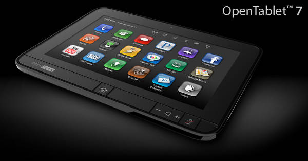 tablet OpenPeak