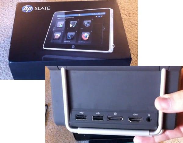 Tabletowo.pl Prototyp tabletu HP Slate na kolejnym wideo Nowości Plotki / Przecieki