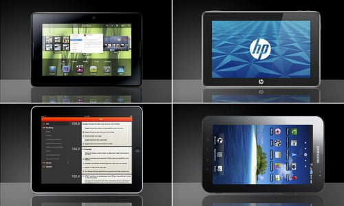 Tabletowo.pl Który lepszy? iPad, Galaxy Tab, PlayBook czy Slate? Nowości Porównania