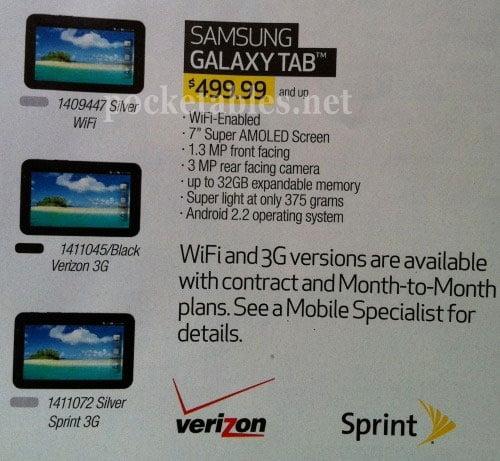 Tabletowo.pl Przeciekł odchudzony Samsung Galaxy Tab z WiFi. Cena? 500 dolarów Nowości Plotki / Przecieki Samsung
