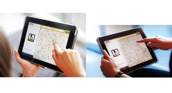 Wyszukiwarka firm pkt.pl na iPada