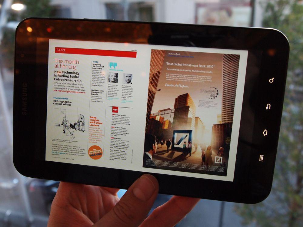 Samsung Galaxy Tab z ekranem Gorilla Glass