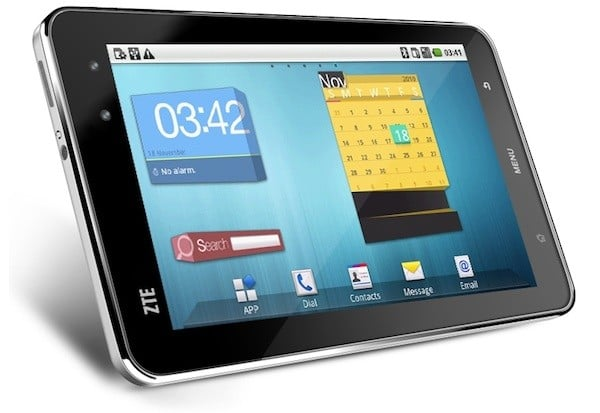 Tablet ZTE Light z Androidem