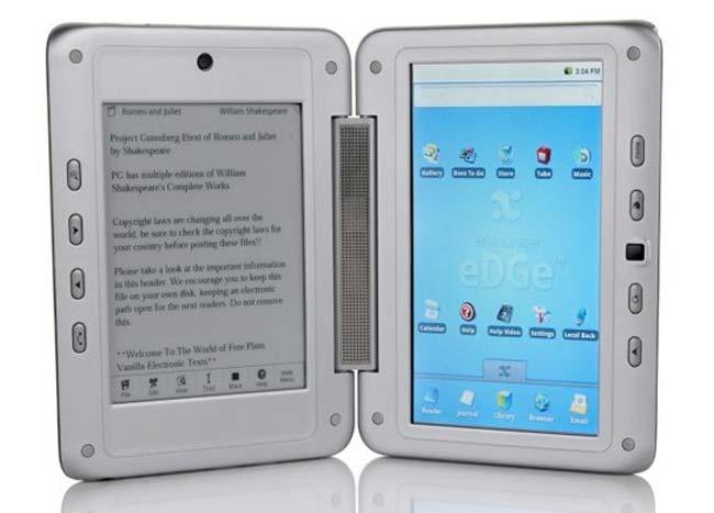 Tabletowo.pl Entourage Pocket eDGe z dwoma ekranami. Połączenie tabletu z e-readerem Ciekawostki Nowości