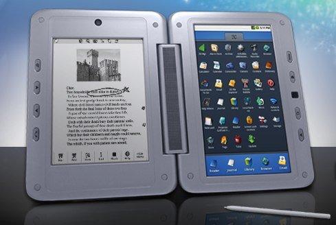 Tabletowo.pl Entourage Pocket eDGe z dwoma ekranami za 400 dolarów (wideo) Nowości
