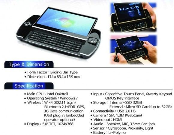 Tabletowo.pl Ocosmos OSC1. Konsola, UMPC czy tablet internetowy? Ciekawostki Nowości