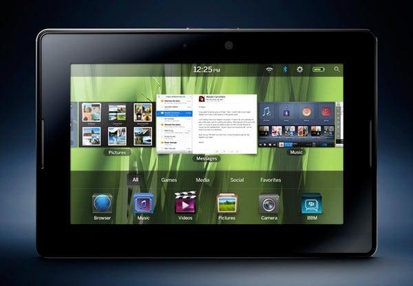 Tabletowo.pl Cena BlackBerry PlayBook z 8GB pamięci to 399 dolarów. A 16GB i 32GB? Nowości