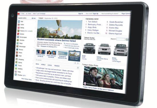 Tabletowo.pl Dwa tablety Sungale z serii Cyberus na CES 2011 Nowości