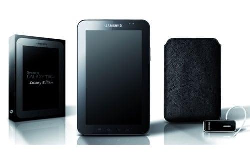 Tabletowo.pl Samsung Galaxy Tab Luxury Edition za 749 euro Nowości Samsung