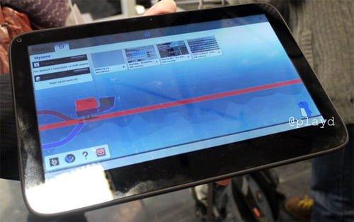 Tabletowo.pl Tablet z MeeGo na zdjęciu. Czyżby Nokia Z500? Nokia Nowości Plotki / Przecieki