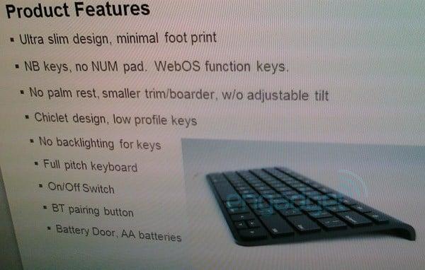 Tabletowo.pl Przeciekła klawiatura Bluetooth do tabletu Palm Topaz Nowości Plotki / Przecieki