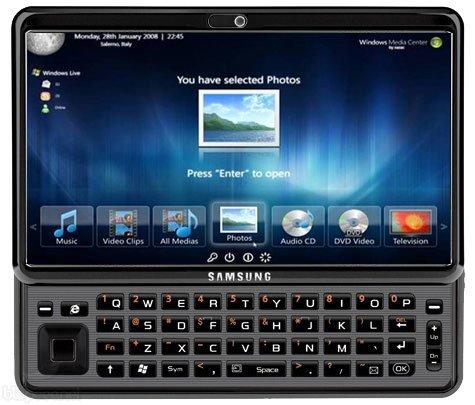Tabletowo.pl Samsung Gloria: 10-calowy tablet z QWERTY i Windows 7? Nowości Plotki / Przecieki Samsung