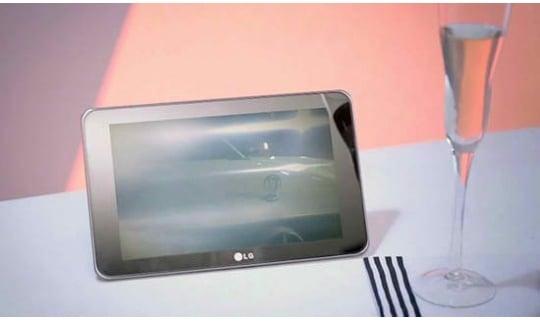 Tabletowo.pl LG G-Slate z aparatem 3D? Tablet bohaterem teledysku (wideo) LG Nowości Plotki / Przecieki