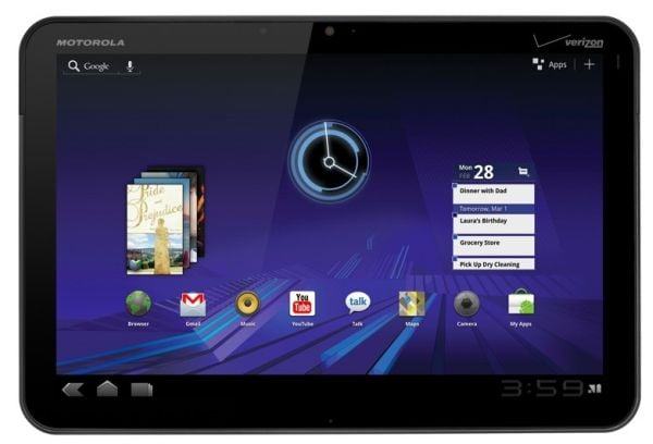 Tabletowo.pl Motorola Xoom - flagowy tablet z Honeycomb Ciekawostki Motorola Nowości