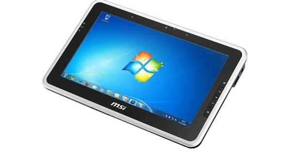 Tabletowo.pl MSI WindPad 100W w sprzedaży jeszcze w styczniu. Cena? 599 euro Nowości
