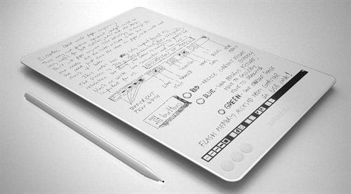 Tabletowo.pl NoteSlate. Nietypowy elektroniczny notatnik za 99 dolarów Ciekawostki Nowości