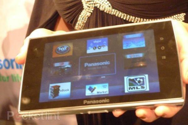Tabletowo.pl Prototyp Panasonic Viera Tablet na CES 2011 Nowości