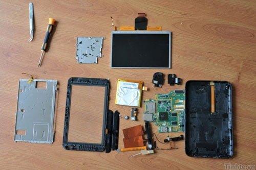 Tabletowo.pl Dell Streak 7 rozłożony na łopatki (wideo) Nowości
