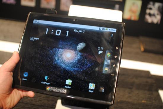 Tabletowo.pl Tablet Polaroid TC 970 największą niespodzianką CES 2011 Nowości