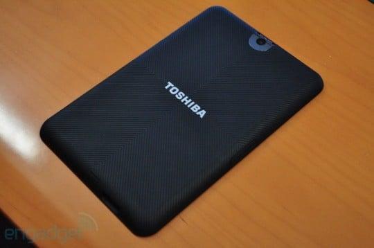 Tabletowo.pl Tablet Toshiby z Androidem Honeycomb na pierwszych zdjęciach Nowości Plotki / Przecieki Toshiba