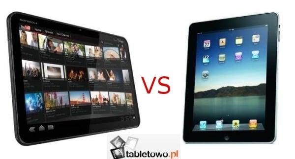 Tabletowo.pl Porównanie: Motorola Xoom vs Apple iPad Apple Motorola Nowości Porównania