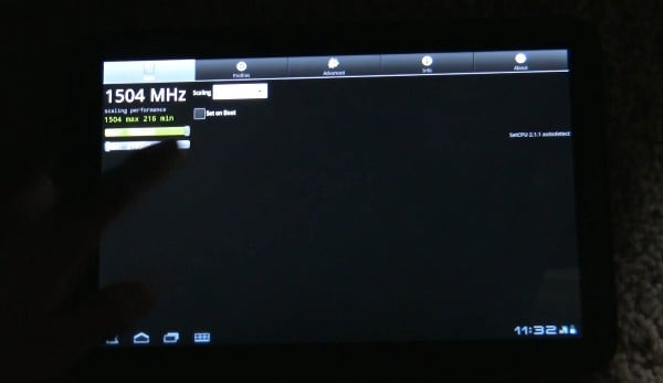Tabletowo.pl Motorola Xoom podkręcona do 1,5GHz Ciekawostki Motorola Nowości