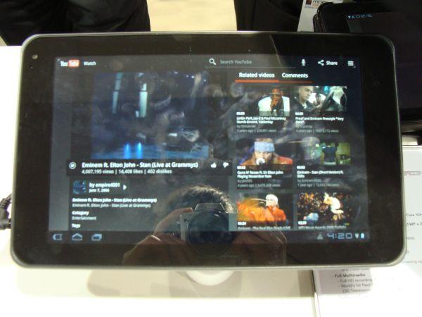 Tabletowo.pl LG Swift Tab (Optimus Pad, G-Slate) na wideo LG Nowości