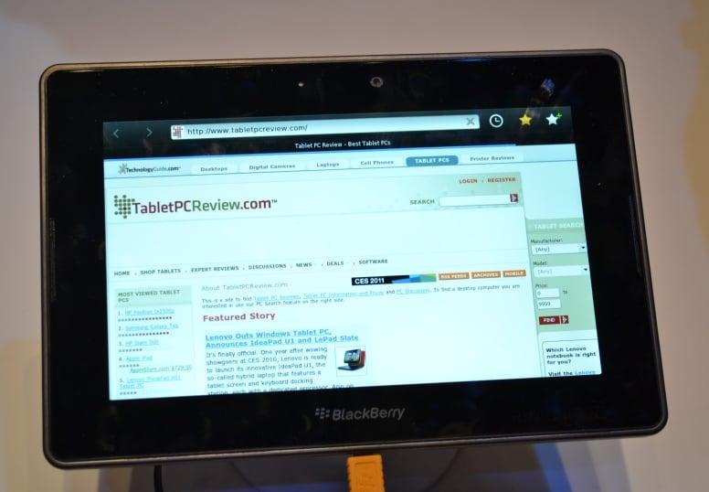 RIM zamierza wydać aż 4 wersje swojego tabletu BlackBerry PlayBook 18